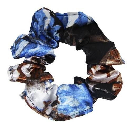 Kit Xuxinhas - Floral Azul II e Bege - Anti Frizz