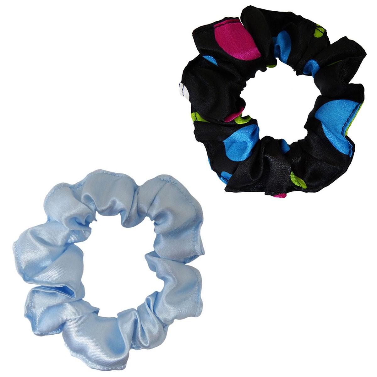 Kit Xuxinhas - Poá Colorido e Azul Claro - Anti Frizz