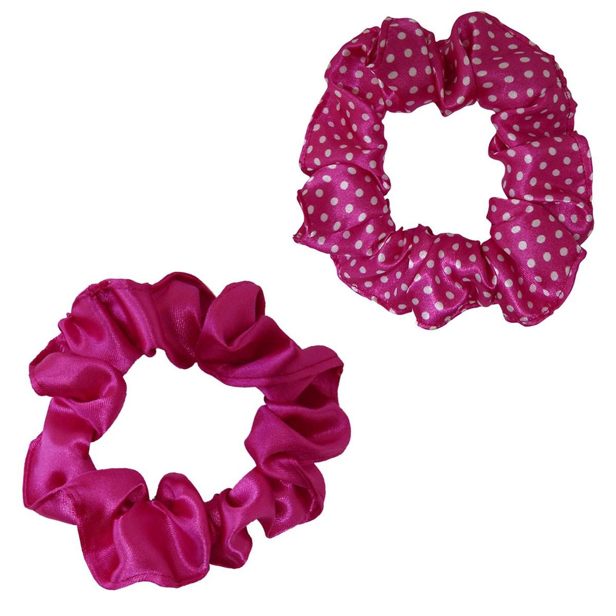 Kit Xuxinhas - Poá Rosa e Pink - Anti Frizz