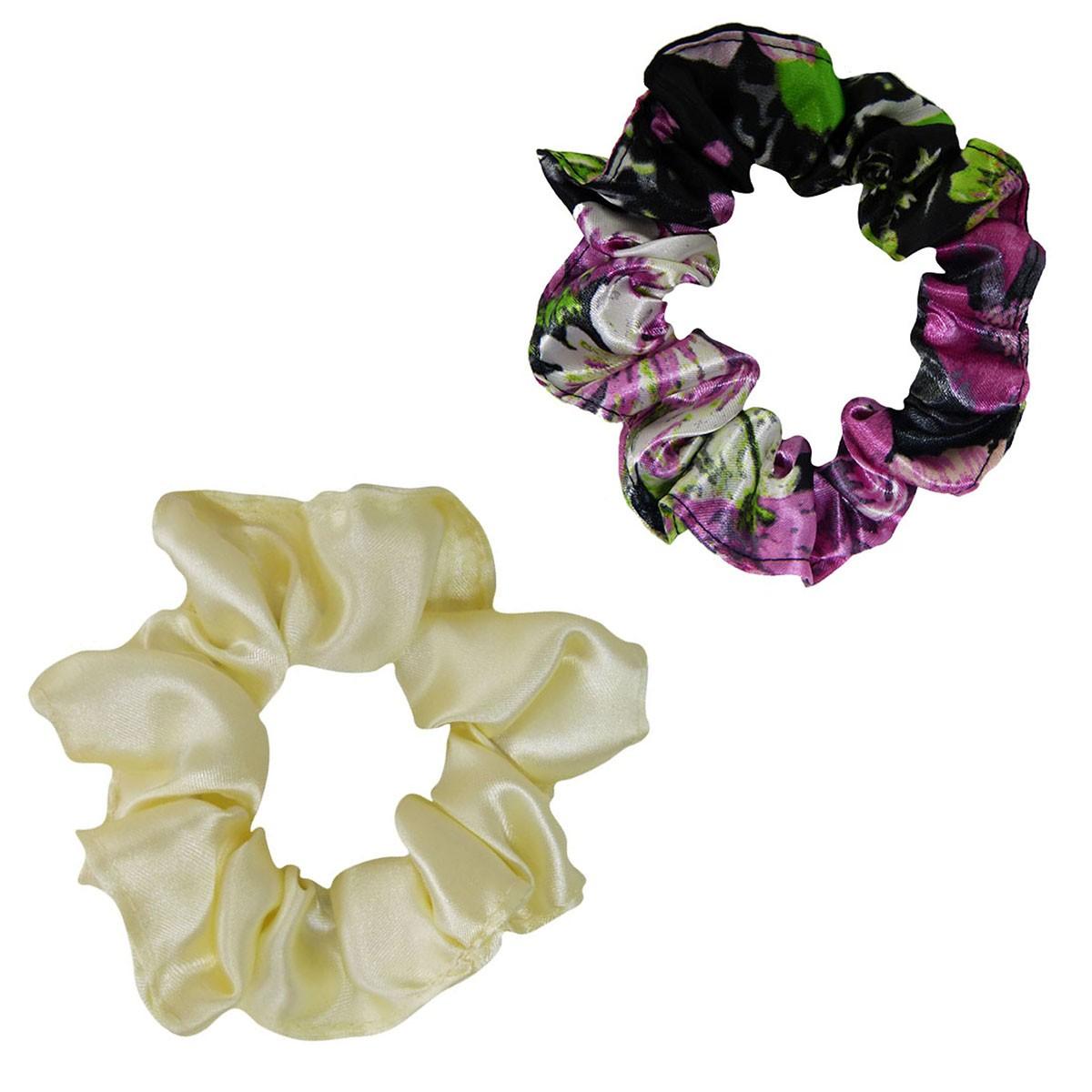Kit Xuxinhas - Rosa Floral e Creme - Anti Frizz