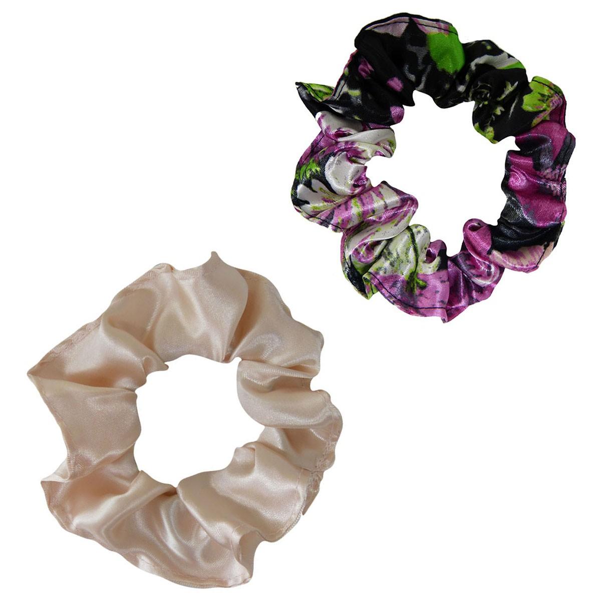 Kit Xuxinhas - Rosa Floral e Nude - Anti Frizz