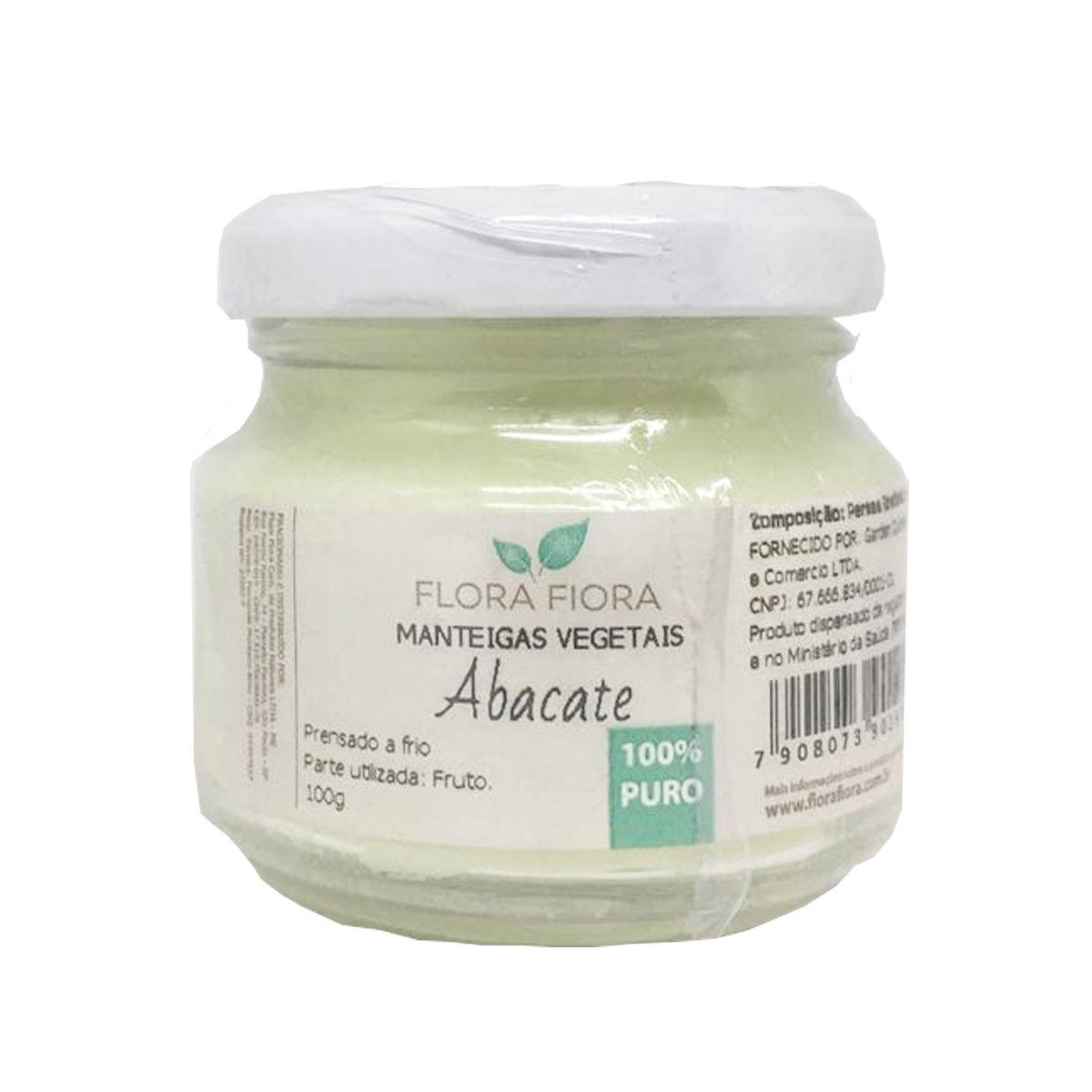 Manteiga Vegetal de Abacate - 100g