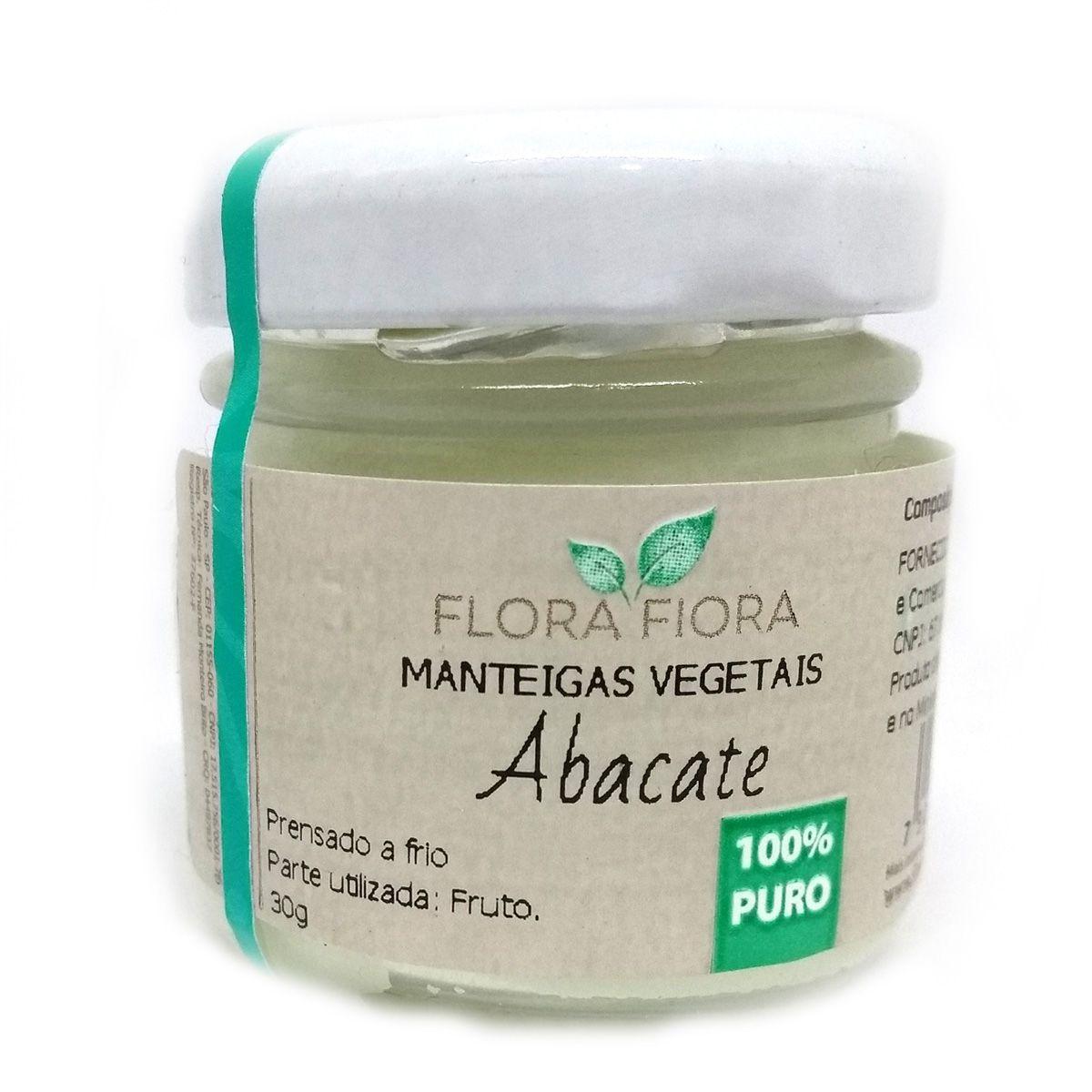 Manteiga Vegetal de Abacate 30g