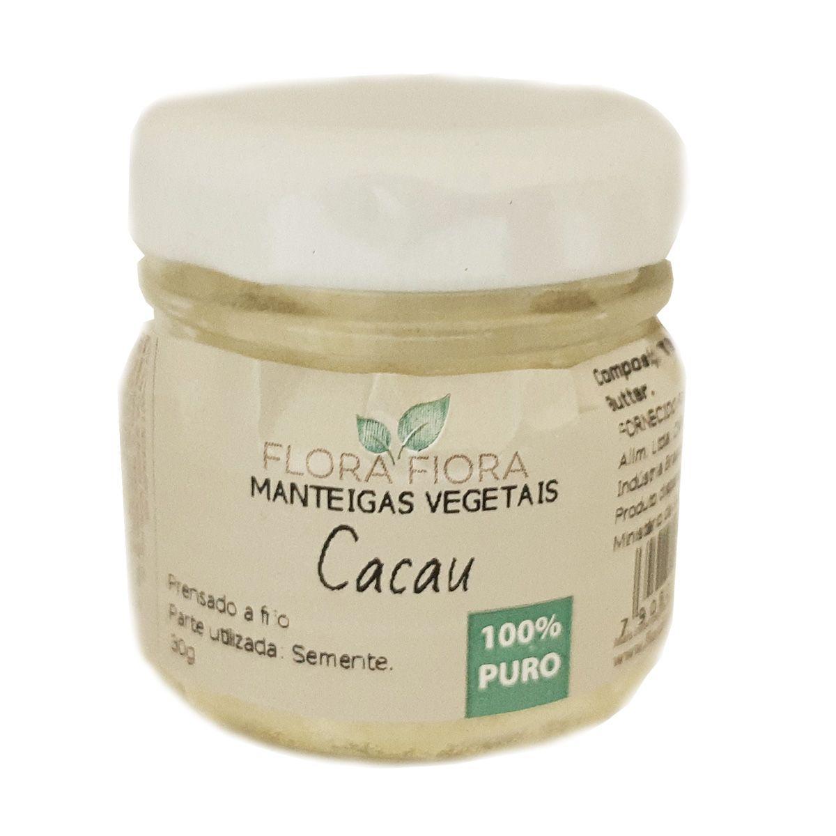 Manteiga Vegetal de Cacau - 30g