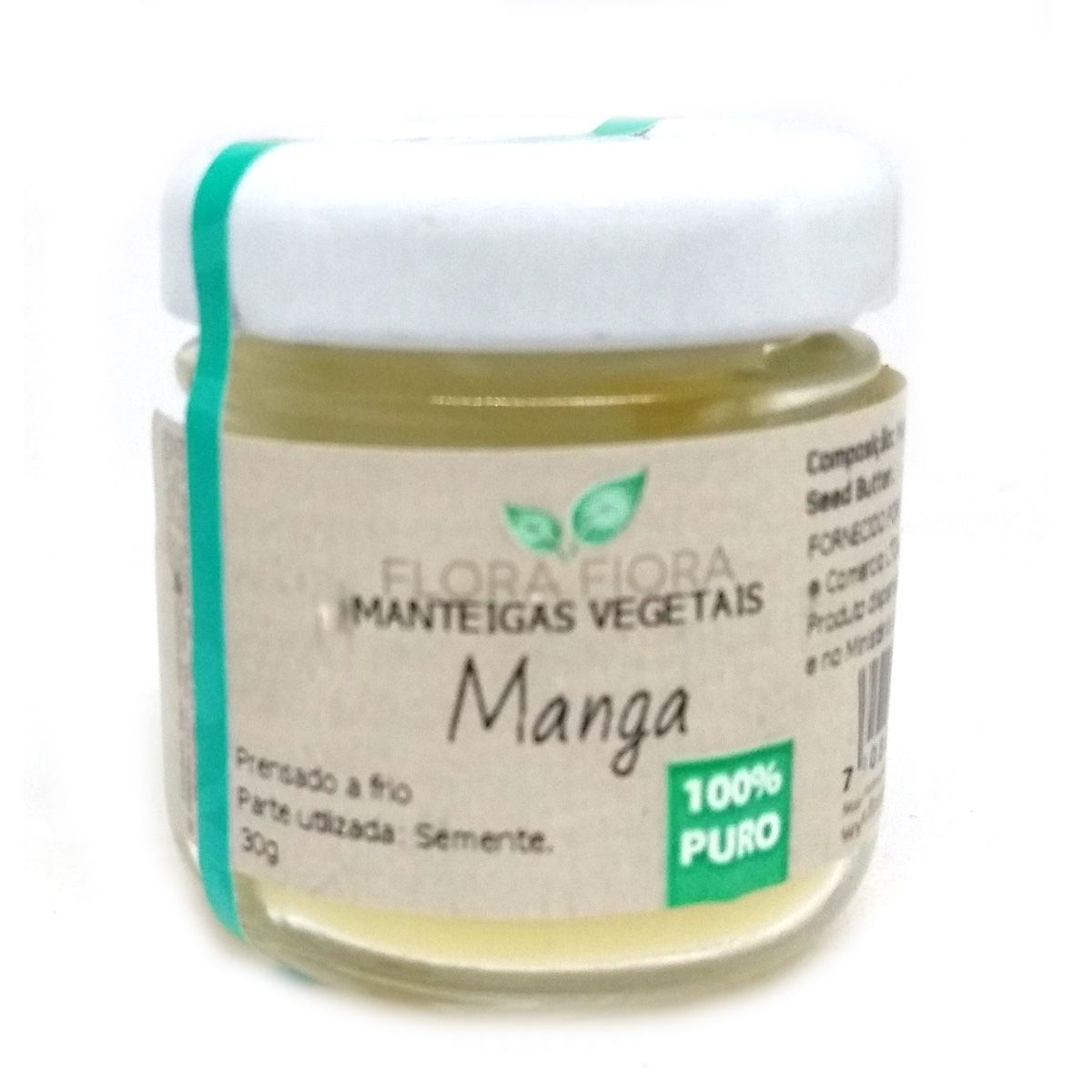 Manteiga Vegetal de Manga - 30g