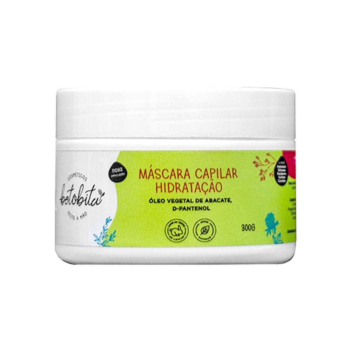 Máscara Capilar Hidratação - BetoBita - 300g