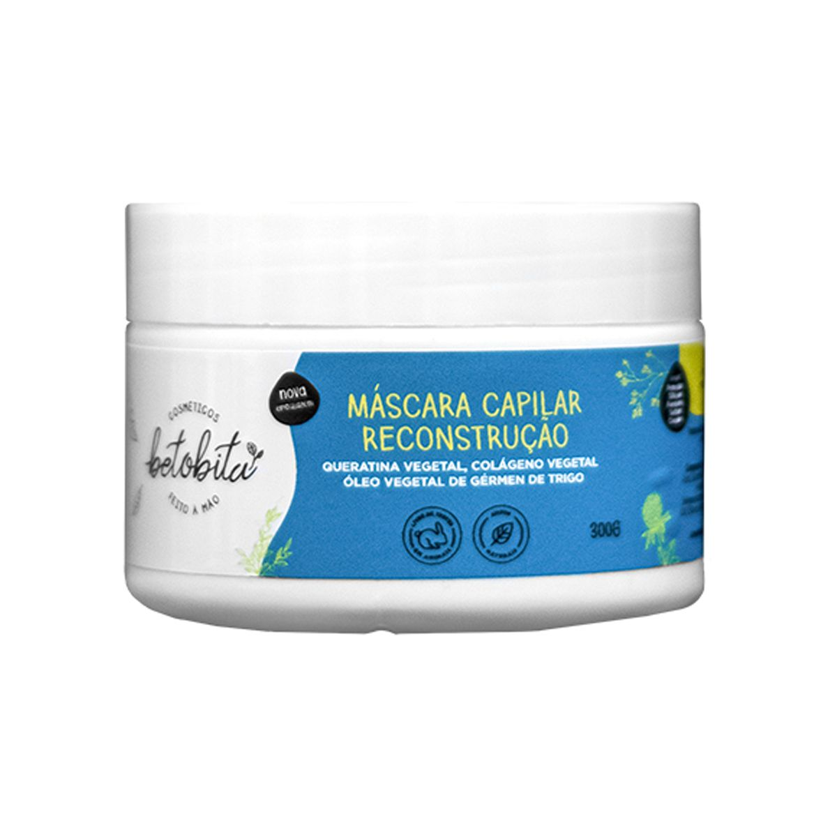 Máscara Capilar Reconstrução - BetoBita - 300g