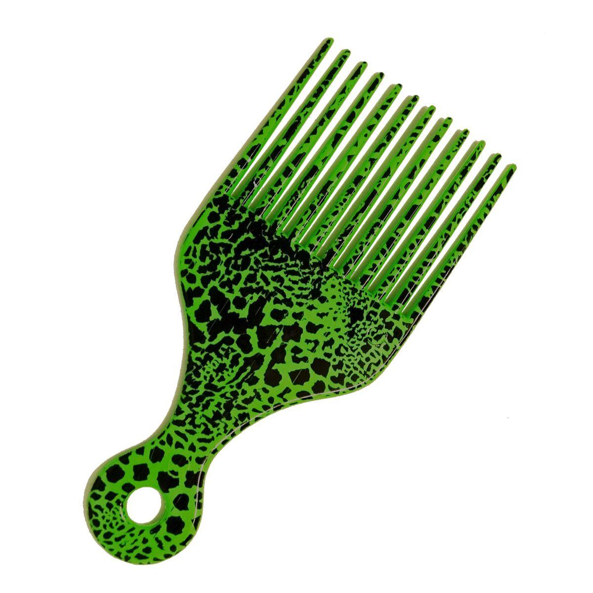 Pente Garfo Black - Verde Onça