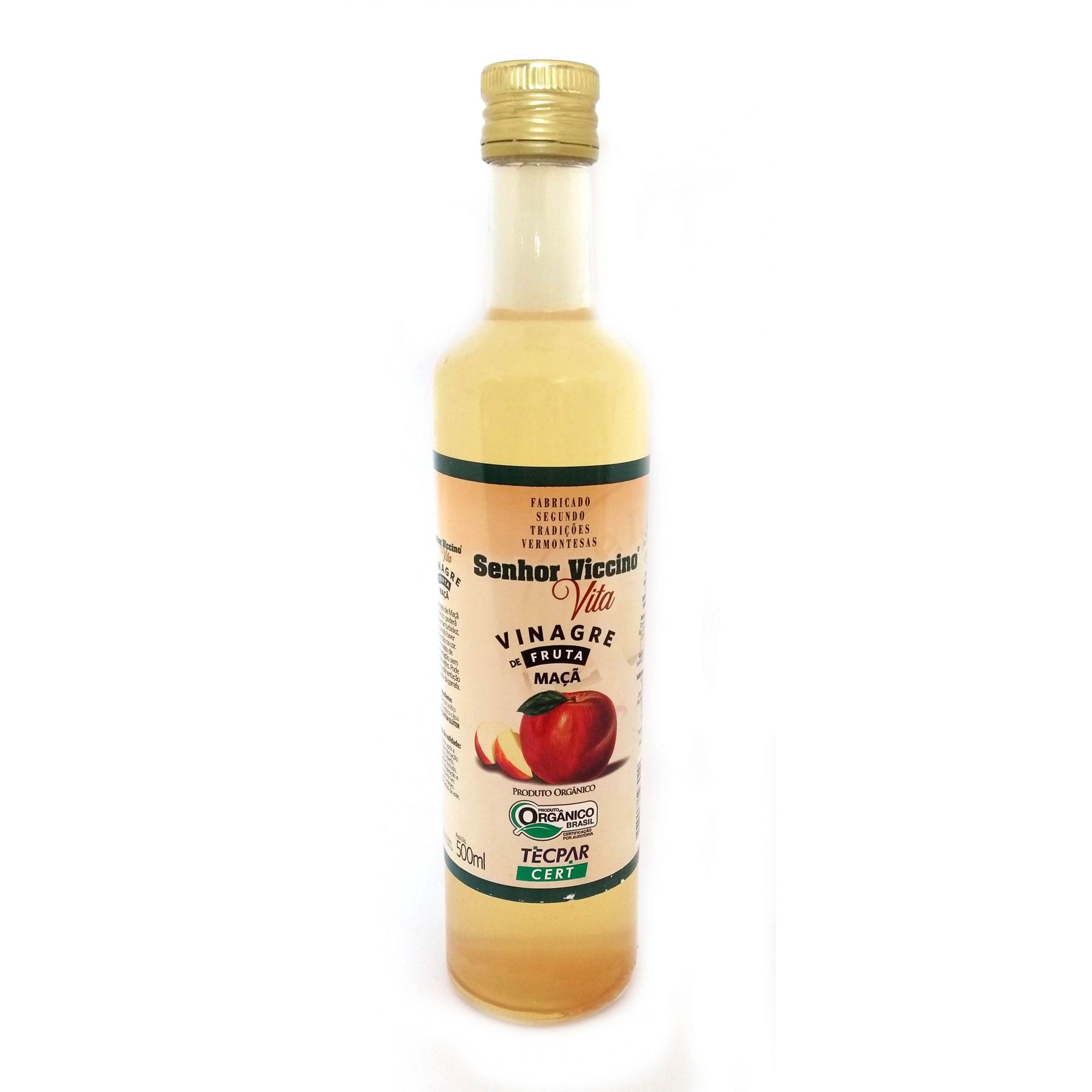 Senhor Viccino - Vinagre de Maçã Orgânico - 500ml