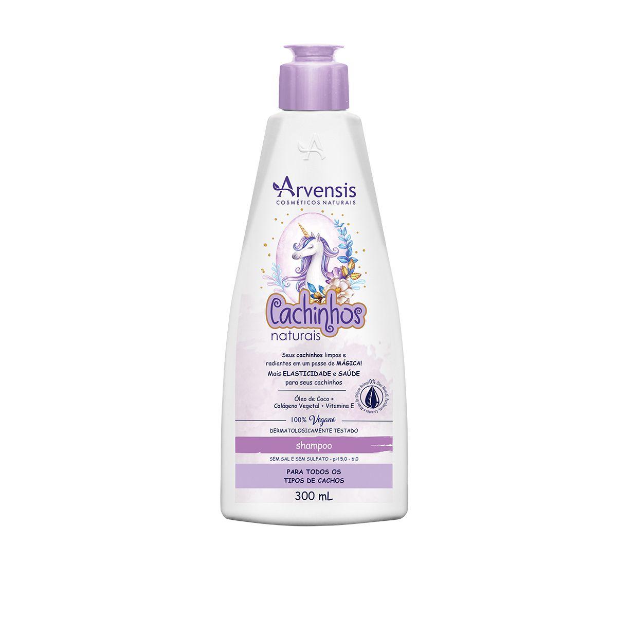 Shampoo - Cachinhos Naturais - Arvensis - 300ml