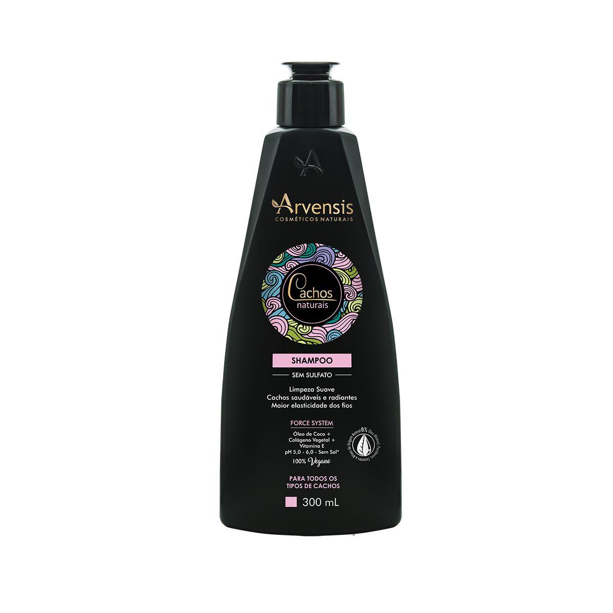 Shampoo - Cachos Naturais - Arvensis - 300ml