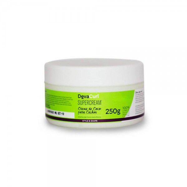 SuperCream  - Creme de Coco Para Cachos - 250g