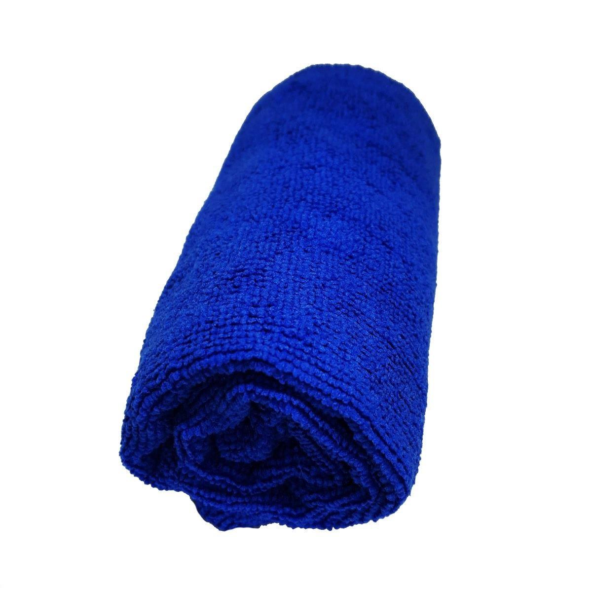 Toalha de Microfibra - Tamanho G - Azul Royal