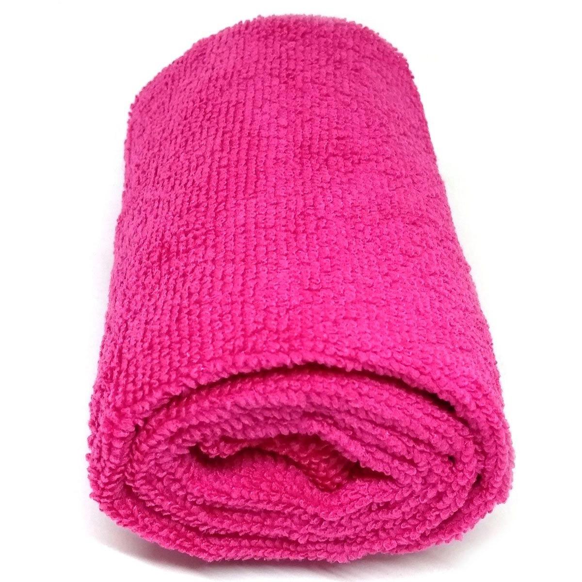 Toalha de Microfibra - Tamanho G - Pink
