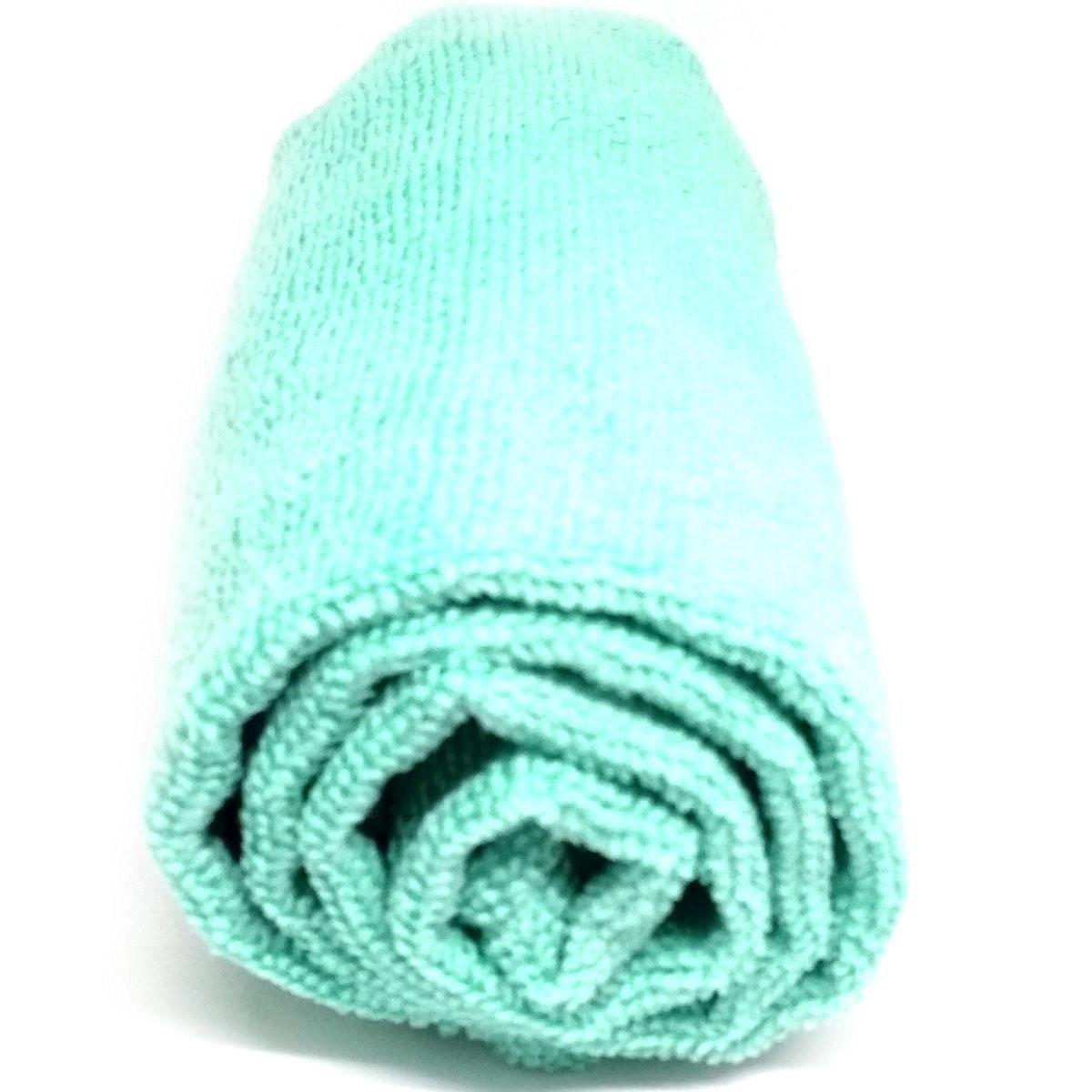 Toalha de Microfibra - Tamanho G - Verde Água