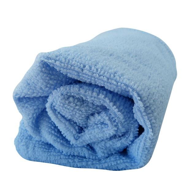 Toalha de Microfibra - Tamanho P - Azul Claro