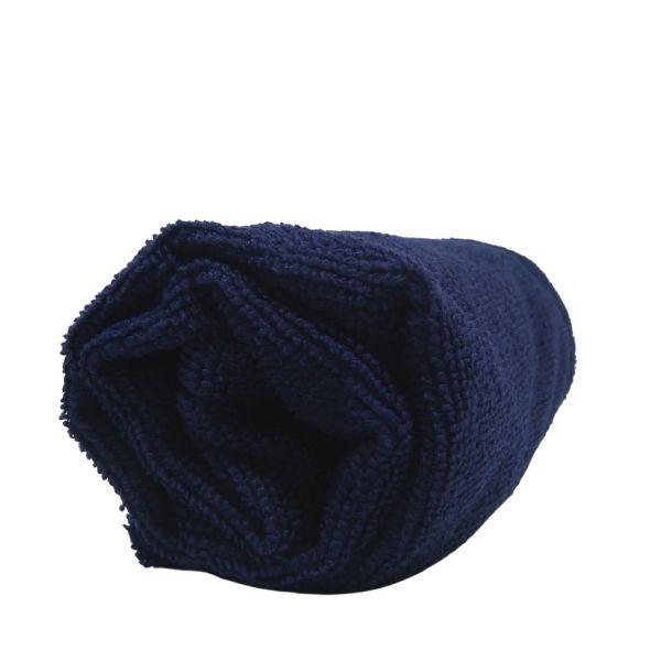 Toalha de Microfibra - Tamanho P - Azul Marinho