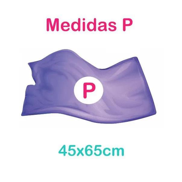 Toalha de Microfibra - Tamanho P - Cinza