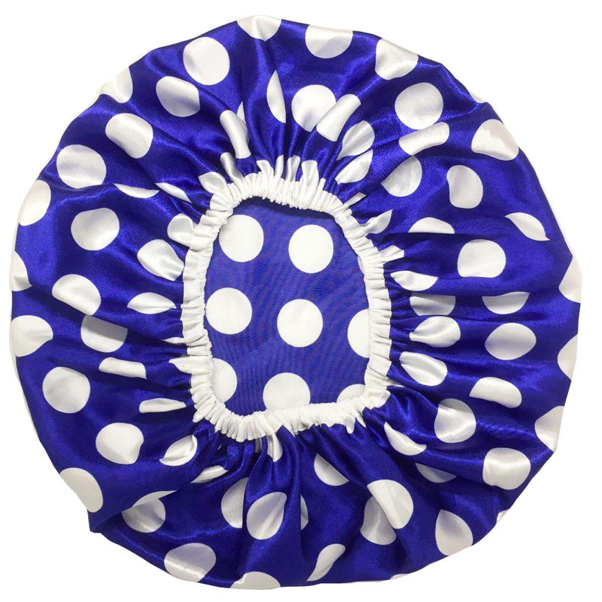 Touca de Cetim Azul de Poá - Basic