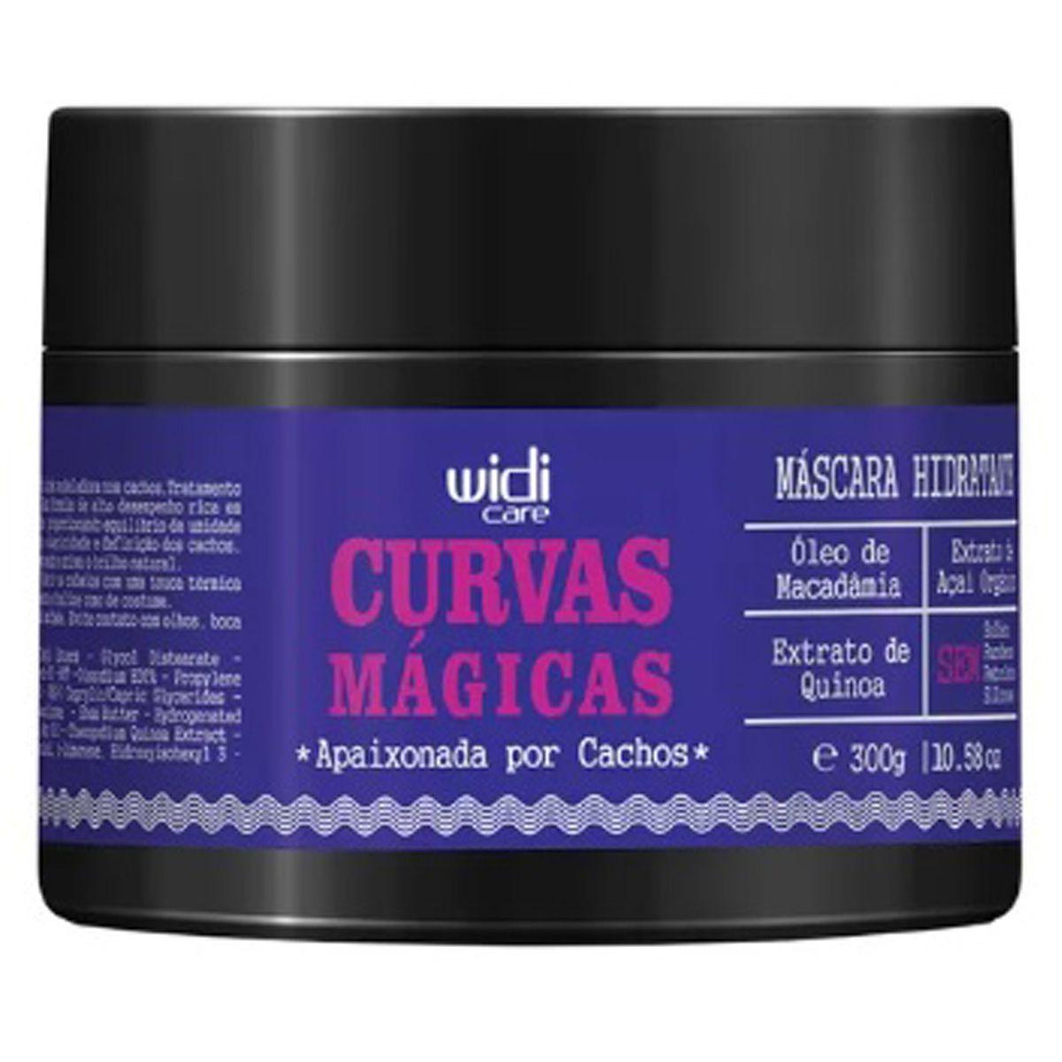 Widi Care - Curvas Mágicas - Máscara hidratante - 300g