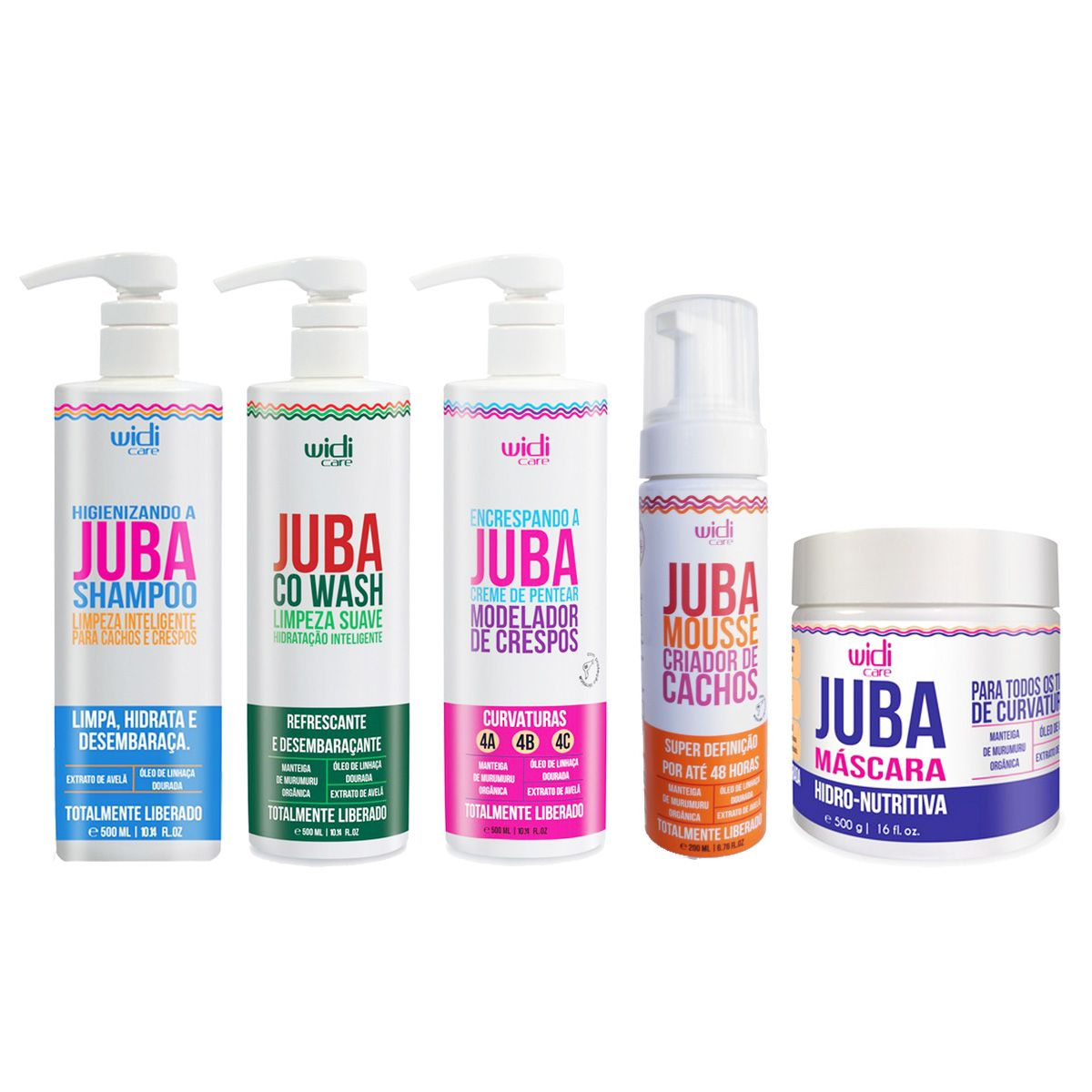 Widi Care - Juba - Kit completo Encrespando