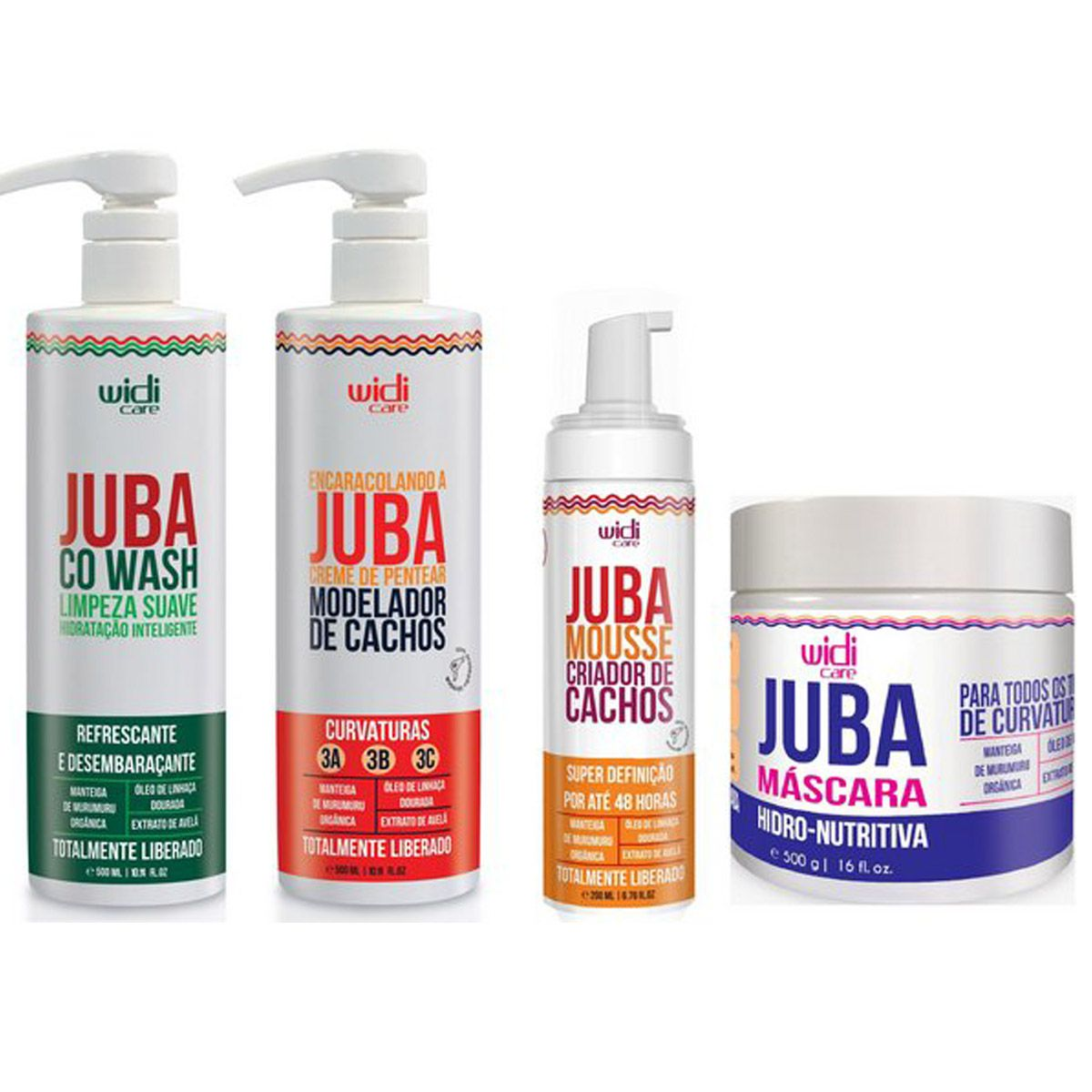 Widi Care - Juba - Kit - Encaracolando