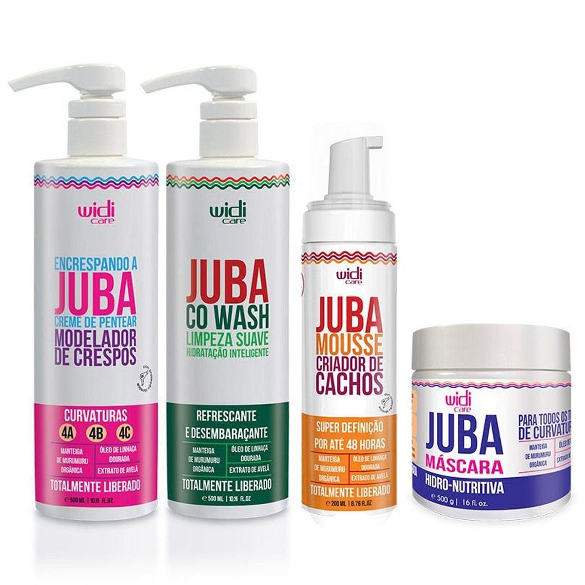 Widi Care - Juba Kit Encrespando