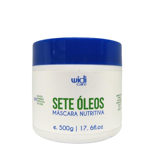 Widi Care - Sete Óleos - Máscara Nutritiva - 500g