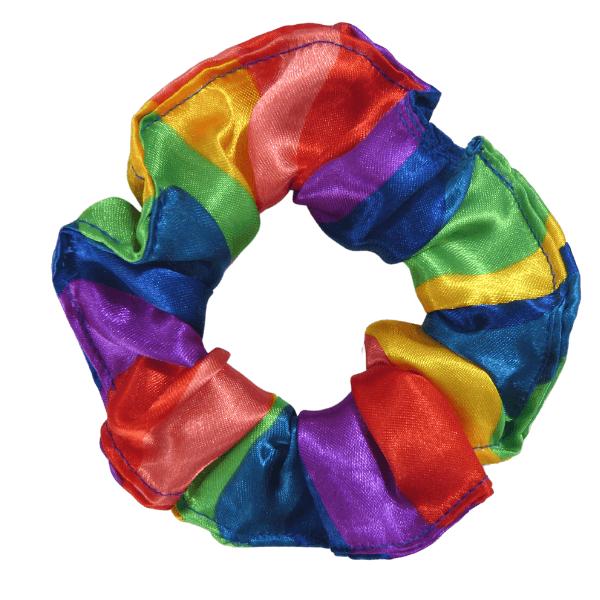 Xuxinha de Cetim - Arco-Íris - Anti Frizz