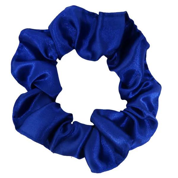 Xuxinha de Cetim - Azul Royal - Anti Frizz