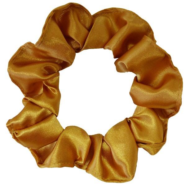 Xuxinha de Cetim - Dourada - Anti Frizz
