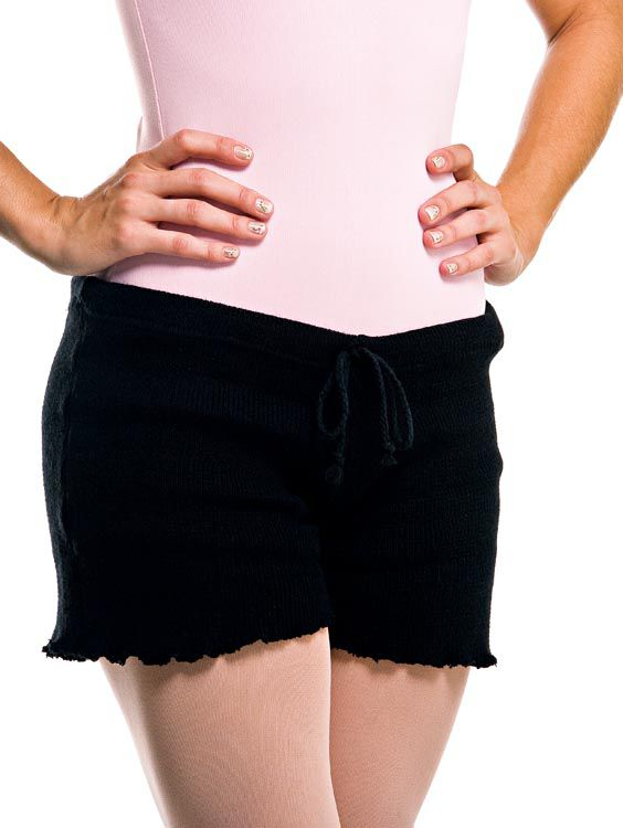 Shorts em Lã Liso Ref 718