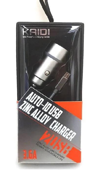 Carregador Veicular Kaidi Kd-505