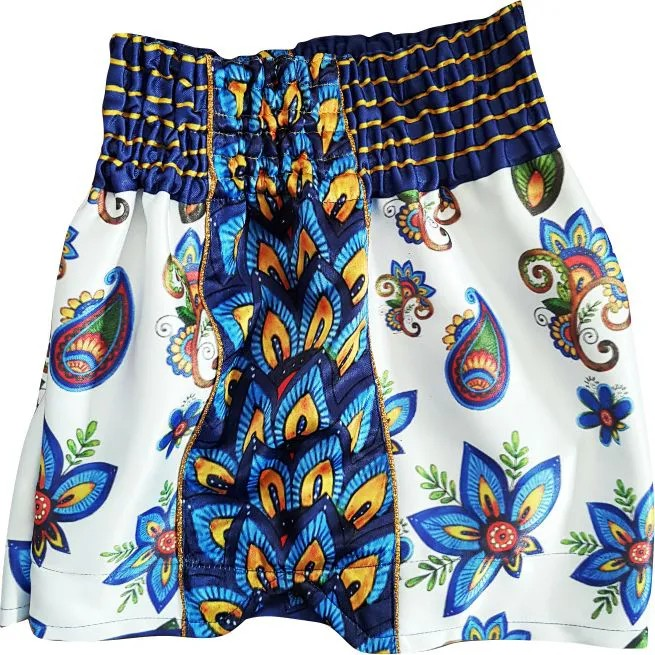 SHORTS RETRÔ  - ESTAMPA EXCLUSIVA