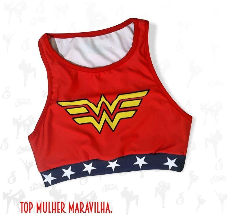 TOP MULHER MARAVILHA