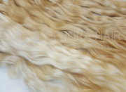 Cabelo Natural Leve Ondulado Loiro de 60 cm