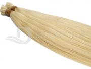 Cabelo Natural Liso Loiro Claro Dourado Russo de 65 cm