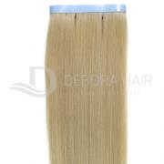 Mega Hair Fita Adesiva Loiro de 55 cm N. 411 Russo