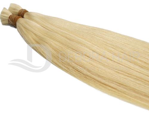 Cabelo Natural Liso Loiro Claro (409) Russo de 65 cm  - DEBORA HAIR