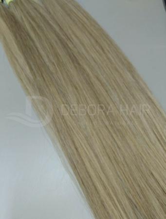 Cabelo Natural Liso Loiro Mesclado (7119A) de 60 cm