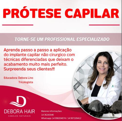 Curso Intensivo de Aplicação de Prótese Capilar  - DEBORA HAIR