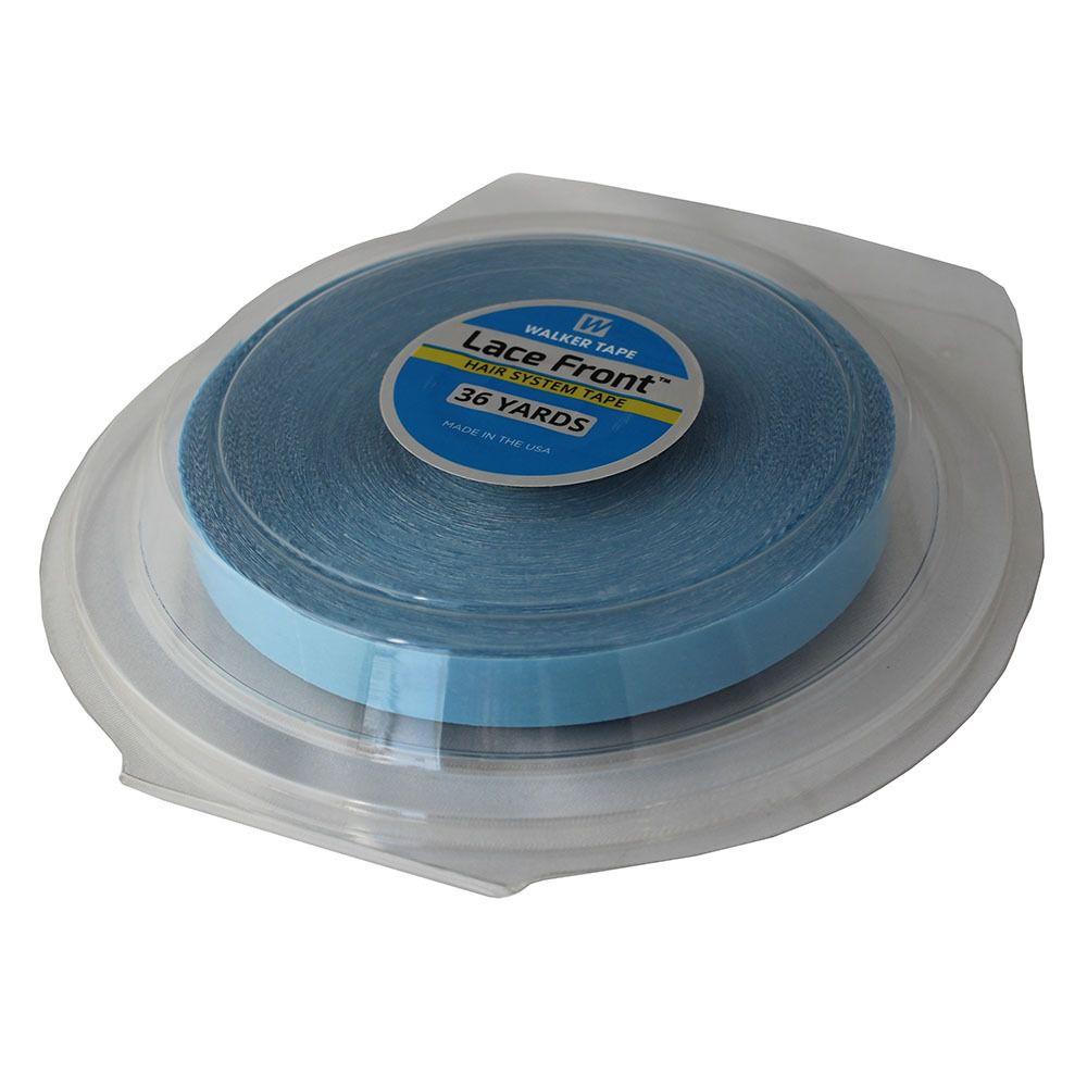 Fita Adesiva Dupla Face Azul - 32 metros WT (1cm)  - DEBORA HAIR