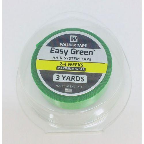 Fita Adesiva Dupla Face Verde - 2 metros (1,27 cm)  - DEBORA HAIR