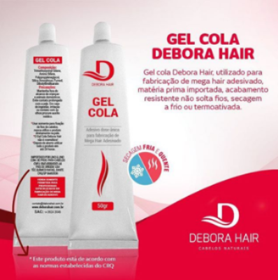 Gel Cola Debora Hair 50 gramas