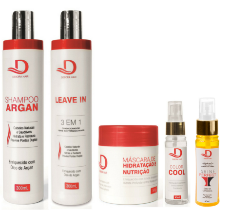 Kit completo Debora Hair