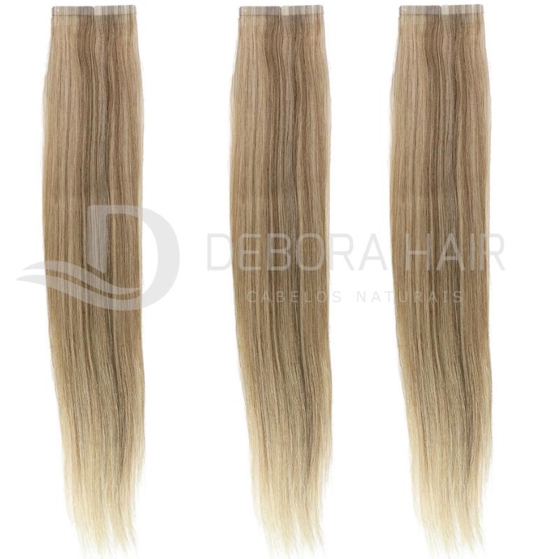 Mega Hair Fita Adesiva 55 cm (SN) N. 1302 20 Peças  - DEBORA HAIR