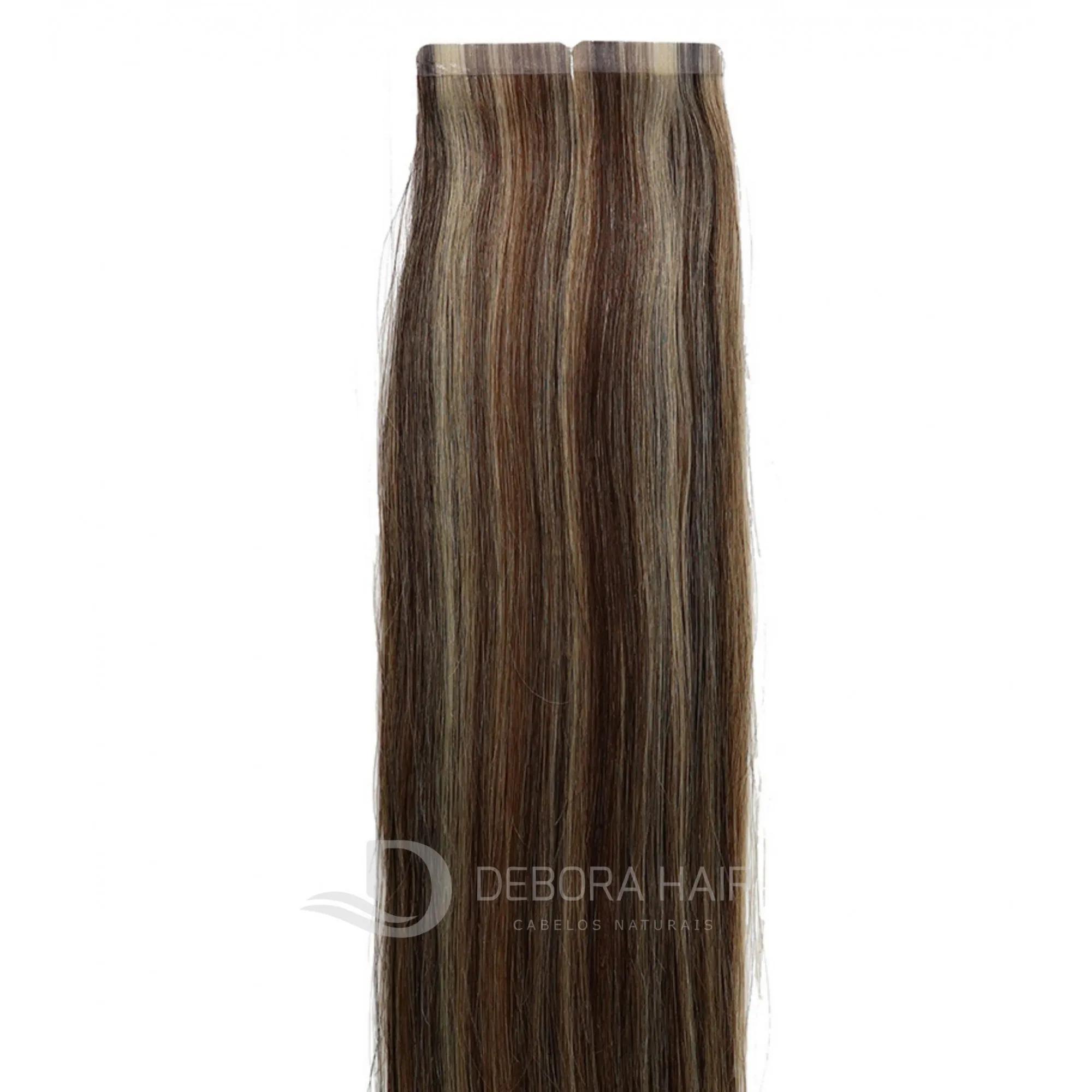 Mega Hair Fita Adesiva 45 cm (SN) N. 1303 20 Peças  - DEBORA HAIR