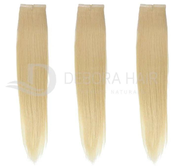 Mega Hair Fita Adesiva 45 cm (SN) N. 409 20 Peças  - DEBORA HAIR