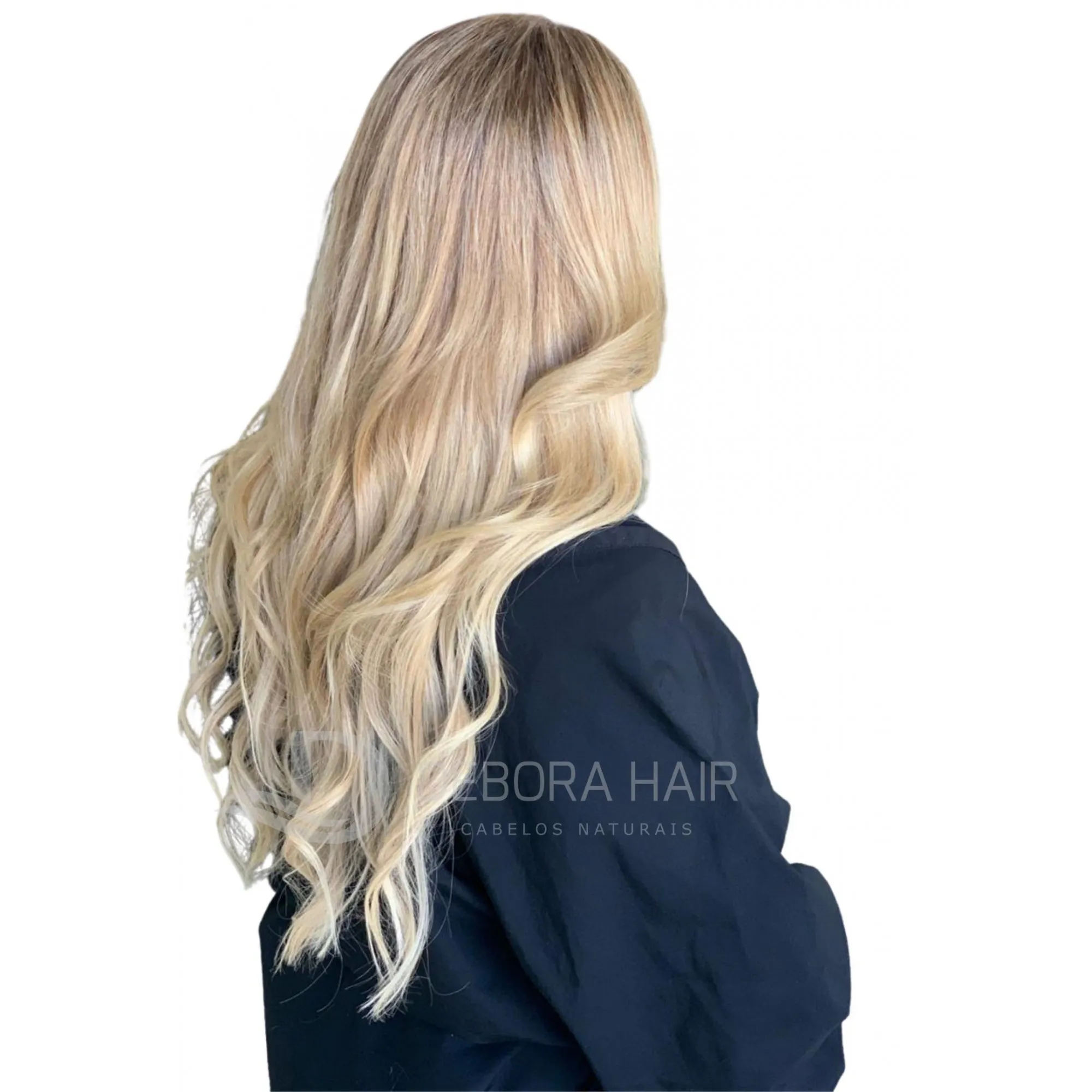 Mega Hair Fita Adesiva 45 cm (SN) N. 7119A 20 Peças