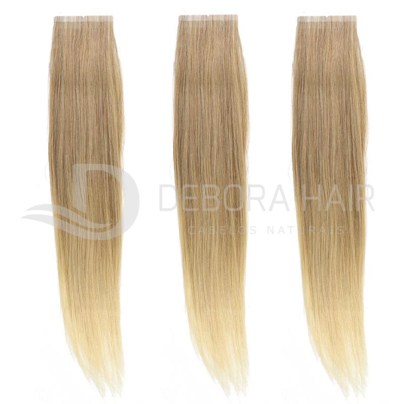 Mega Hair Fita Adesiva 45 cm (SN) N. M7119A 20 Peças  - DEBORA HAIR